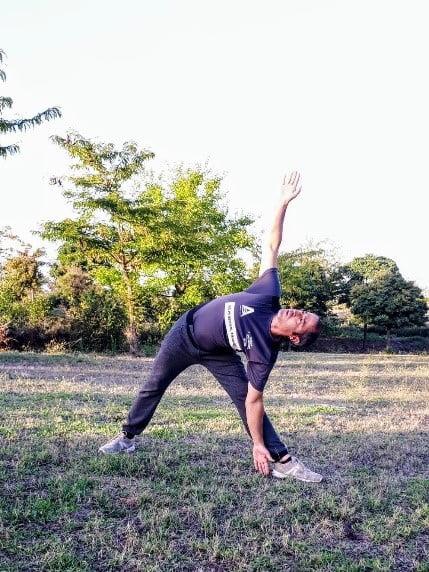 David, nuestro profesor de Yoga